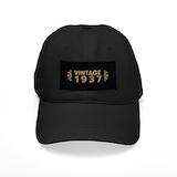 Vintage 1937 Black Hat