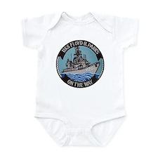 USS FLOYD B. PARKS Infant Bodysuit