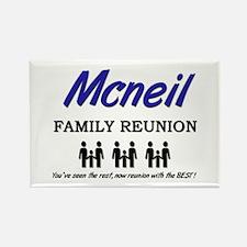 Mcneil Family Reunion Rectangle Magnet