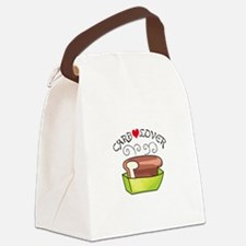 CARB LOVER Canvas Lunch Bag