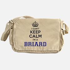 Unique Briard Messenger Bag