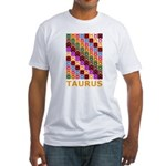 Pop Art Taurus Fitted T-Shirt