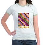 Pop Art Taurus Jr. Ringer T-Shirt