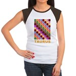 Pop Art Taurus Women's Cap Sleeve T-Shirt