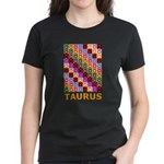 Pop Art Taurus Women's Dark T-Shirt