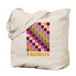 Pop Art Taurus Tote Bag