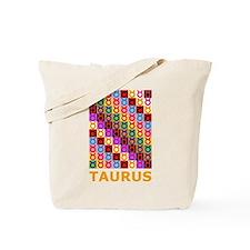 Pop Art Taurus Tote Bag