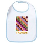 Pop Art Taurus Bib
