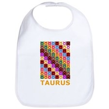 Pop Art Taurus Bib