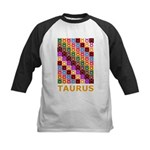 Pop Art Taurus Kids Baseball Jersey