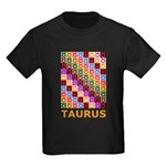 Pop Art Taurus Kids Dark T-Shirt