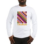 Pop Art Taurus Long Sleeve T-Shirt