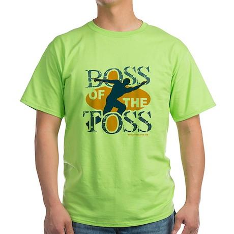 Boss Male Green T-Shirt