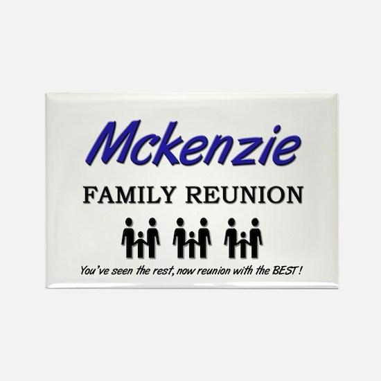 Mckenzie Family Reunion Rectangle Magnet