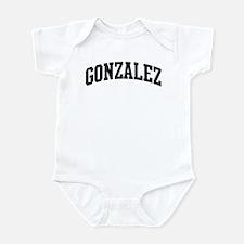 GONZALEZ (curve-black) Infant Bodysuit
