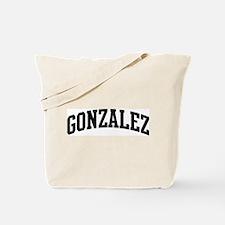 GONZALEZ (curve-black) Tote Bag