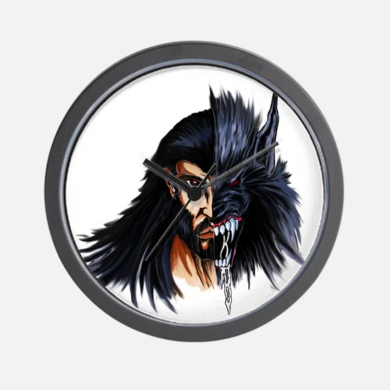 The Beast Within Wall Clock