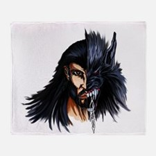 The Beast Within Throw Blanket