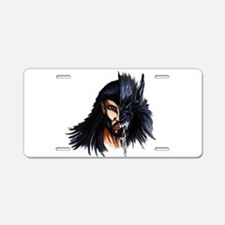 The Beast Within Aluminum License Plate