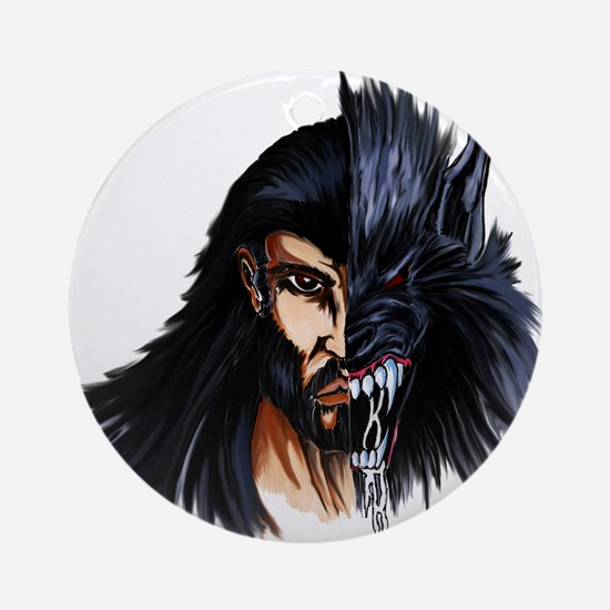 The Beast Within Ornament (Round)