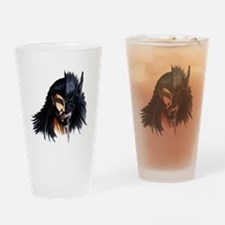 The Beast Within Drinking Glass