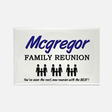 Mcgregor Family Reunion Rectangle Magnet