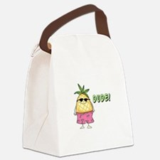 Dude! Canvas Lunch Bag