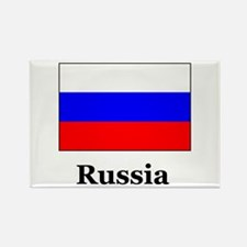 Russia Culture and Heritage Rectangle Magnet