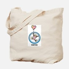 Courtney: Happy B-day to me Tote Bag
