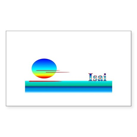 Isai Rectangle Sticker