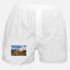Mountains Sky in the Badlands Nation Boxer Shorts
