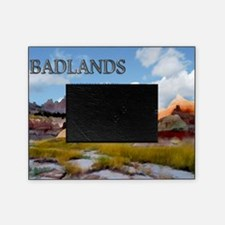 Mountains  Sky in the Badlands Natio Picture Frame