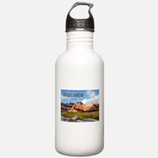 Mountains Sky in the Water Bottle
