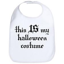 My Halloween Costume Bib