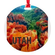 Hoodoos in Bryce Canyon National Pa Ornament