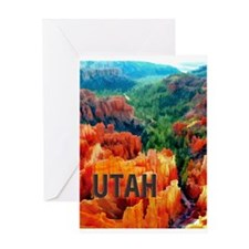 Hoodoos in Bryce Canyon National Pa Greeting Cards