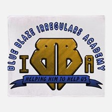 Blue Blaze Irregulars Academy Throw Blanket