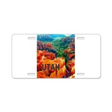Hoodoos in Bryce Canyon Nat Aluminum License Plate