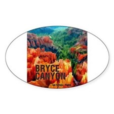 Hoodoos in Bryce Canyon National Park Decal