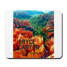 Hoodoos in Bryce Canyon National Park Mousepad