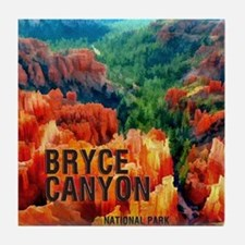 Hoodoos in Bryce Canyon National Park Tile Coaster