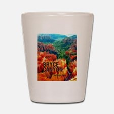 Hoodoos in Bryce Canyon National Park Shot Glass