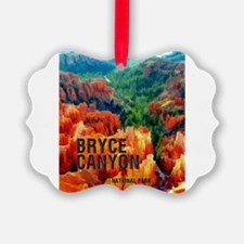 Hoodoos in Bryce Canyon National Ornament