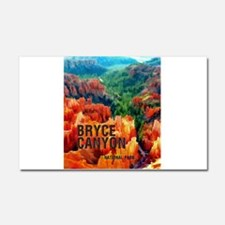 Hoodoos in Bryce Canyon Nationa Car Magnet 20 x 12