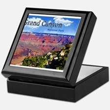 Grand Canyon NAtional Park Poster Keepsake Box