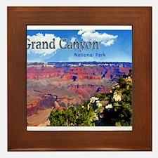 Grand Canyon NAtional Park Poster Framed Tile