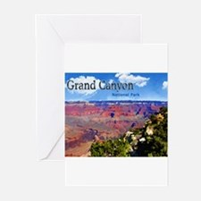 Grand Canyon NAtional Park Poster Greeting Cards
