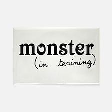 Monster In Training Rectangle Magnet