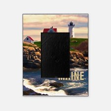 Cape Neddick Lighthouse Maine at Sun Picture Frame