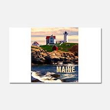 Cape Neddick Lighthouse Maine a Car Magnet 20 x 12